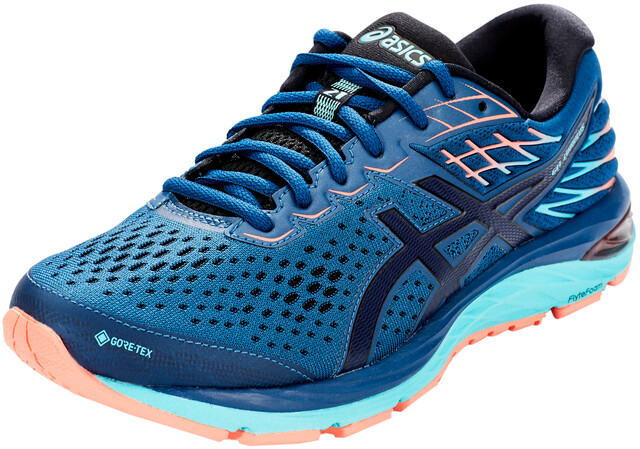 asics Gel Cumulus 21 G TX Schuhe Damen mako bluemidnight